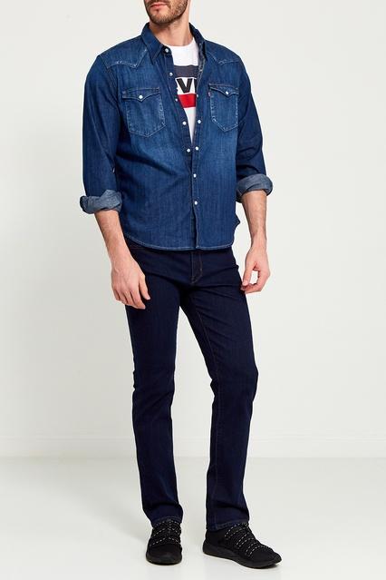 f5c813399cefb ... Синяя джинсовая рубашка Levi's® - Levi's®, Мужское, Мужское Levi's®,  вид ...