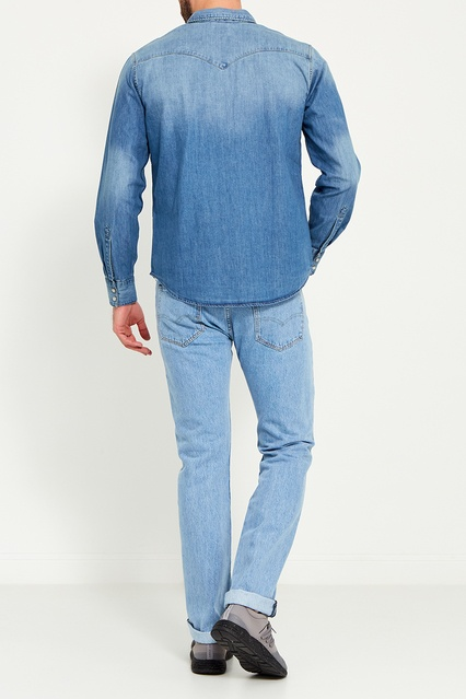 fdfe90f698db4 ... Голубая джинсовая рубашка Levi's® - Levi's®, Мужское, Мужское Levi's®,  вид ...