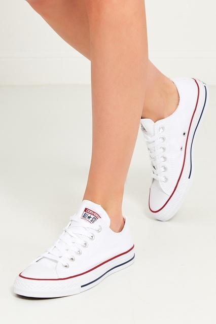 b300e64cd310 ... Белые текстильные кеды Converse - Converse, Обувь, Обувь Converse, вид  3 ...