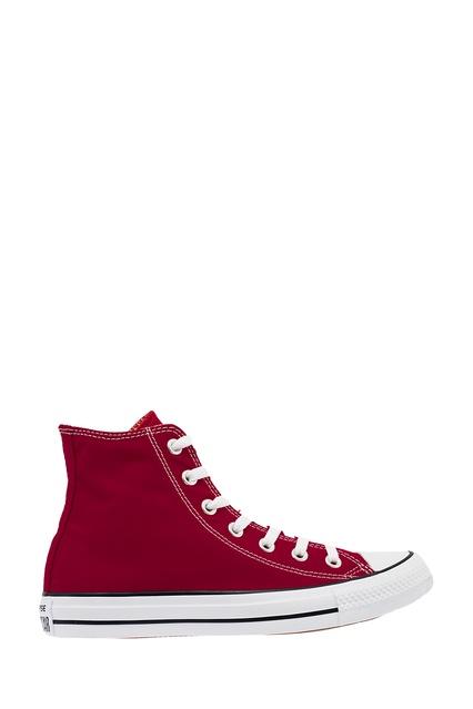 9fdbc2cb2c31 Высокие бордовые кеды из текстиля Converse - Converse, Обувь, Обувь Converse,  вид 1 ...
