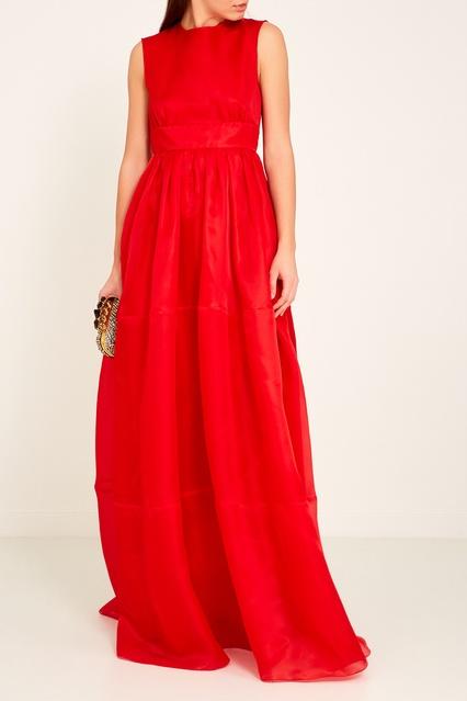 120f5434c54c9f5 ... Красное шелковое платье в пол Rochas - Rochas, Женское, Женское Rochas,  вид 2 ...