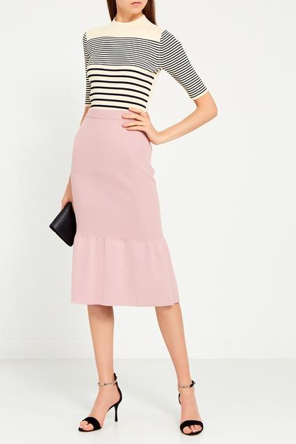 6314bbaca49 Сиреневая юбка-миди Knittedkiss – купить в интернет-магазине в Москве