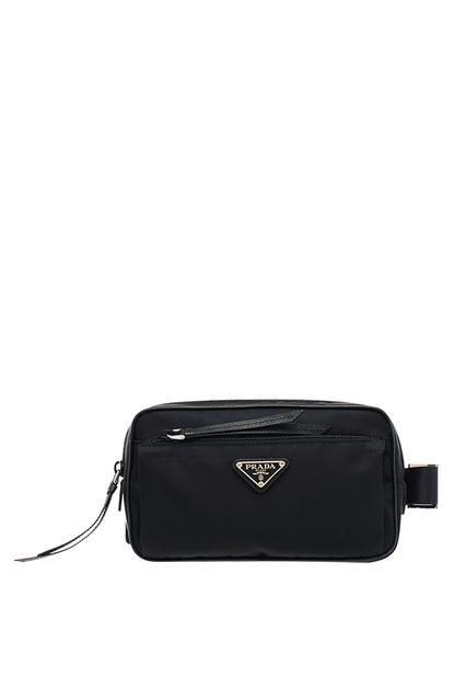 247aa1913f7e Черная поясная сумка из нейлона Prada - Prada, Женское, Женское Prada, вид  1 ...