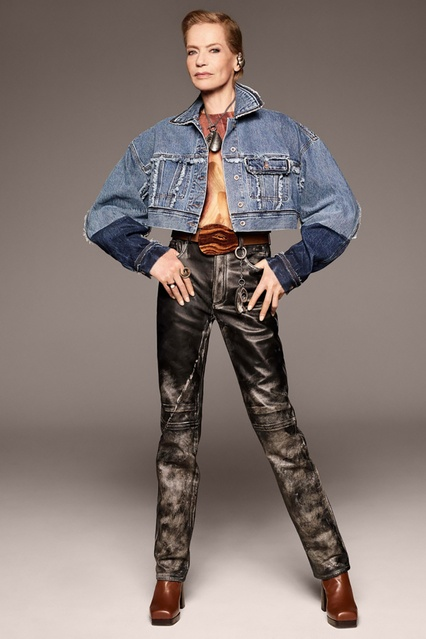 daf5a9d5520a ... Короткая джинсовая куртка Kremi Acne Studios - Acne Studios, Одежда,  Одежда Acne Studios, ...