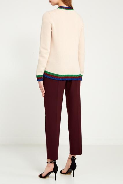 ... Шерстяной кардиган с нашивкой Gucci - Gucci, Одежда, Одежда Gucci, вид  3 ... e0b62fe7156