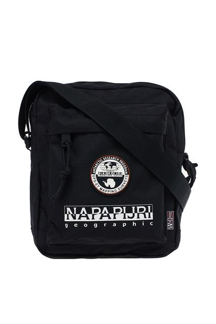 a38740c55220 Черная сумка с накладным карманом Napapijri - Napapijri, Женское, Женское  Napapijri, вид 1 ...