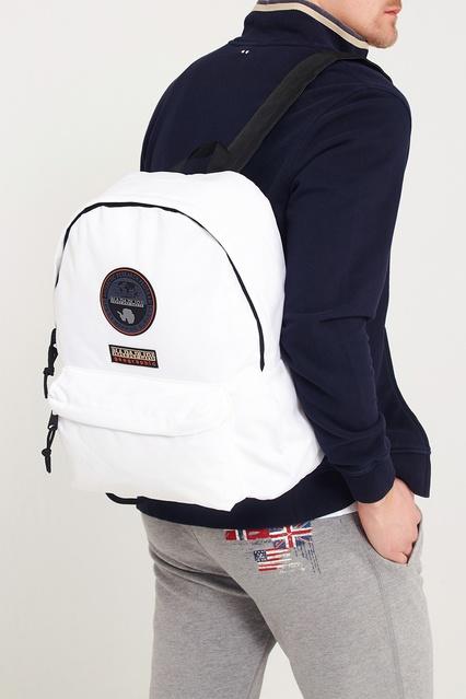 1e90f1017e43 ... Белый текстильный рюкзак Napapijri - Napapijri, Мужское, Мужское  Napapijri, вид 5 ...