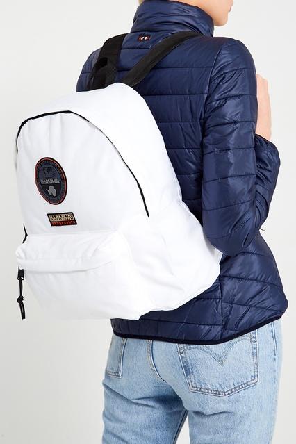 420cd8b2f90d ... Белый текстильный рюкзак Napapijri - Napapijri, Мужское, Мужское  Napapijri, вид 3 ...