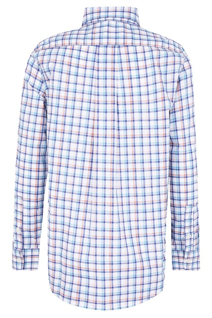 b3cfaabe835 ... Рубашка в клетку с длинными рукавами Ralph Lauren Kids - Ralph Lauren  Kids