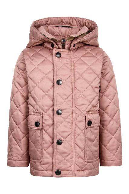 Удлиненная стеганая куртка Burberry Kids - Burberry Kids, Детское, Детское Burberry  Kids, вид ... e7a4aa55489