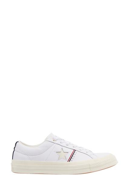 Белые кожаные кеды One Star Converse - Converse, Обувь, Обувь Converse, вид  1 ... 60665afbe6c