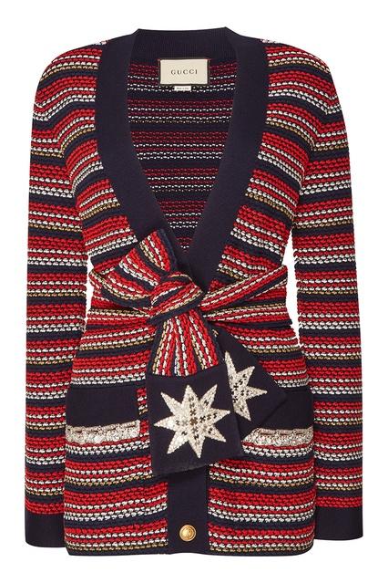 Шерстяной кардиган в полоску Gucci - Gucci, Одежда, Одежда Gucci, вид 1 ... 75521ae813d
