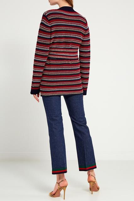 ... Шерстяной кардиган в полоску Gucci - Gucci, Одежда, Одежда Gucci, вид 3  ... c3f34577160