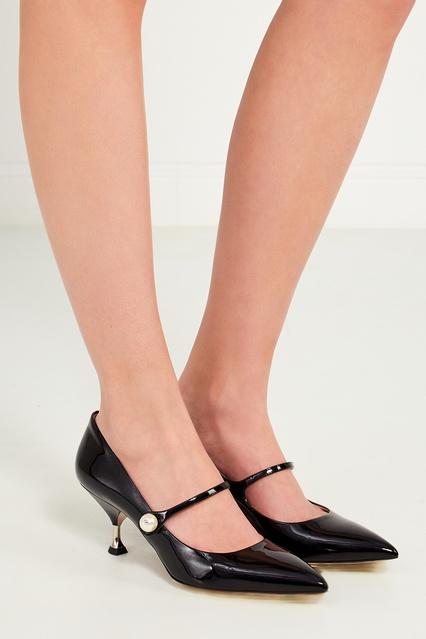 ... Черные лакированные туфли Miu Miu - Miu Miu, Обувь, Обувь Miu Miu, вид  ... 67bc8f1dead