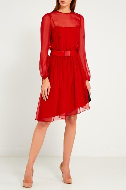 400ba280251 Красное шелковое платье No.21 – купить в интернет-магазине в Москве