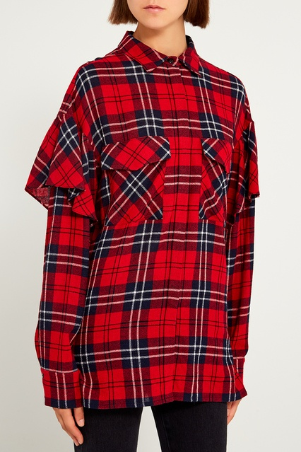 cb3564e38a8 Рубашка в клетку ЛИ-ЛУ – купить в интернет-магазине в Москве