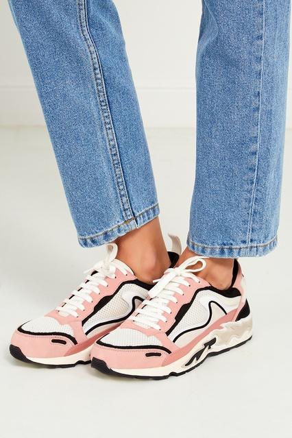 ... Комбинированные кроссовки Flame Sandro - Sandro, Обувь, Обувь Sandro,  вид 3 ... aee78e4d17b