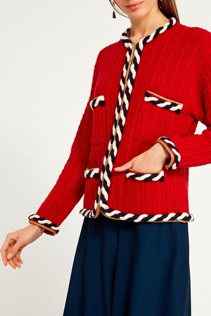 ... Кардиган с рельефной отделкой Gucci - Gucci, Одежда, Одежда Gucci, вид  4 ... e1ba393369e