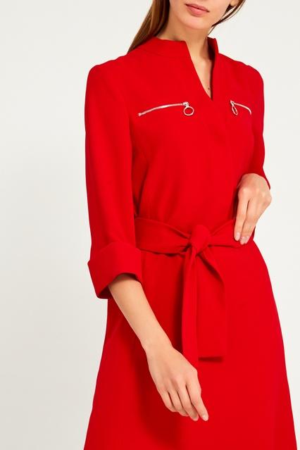 8d01568b37b Красное платье с поясом Claudie Pierlot – купить в интернет-магазине ...