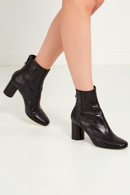 ... Черные кожаные ботильоны Sandro - Sandro, Обувь, Обувь Sandro, вид 3 ... c5aa982181f
