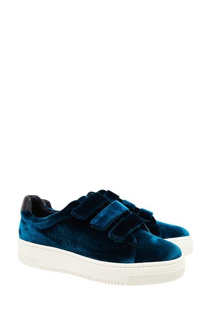 ... Бирюзовые вельветовые кроссовки Sandro - Sandro, Обувь, Обувь Sandro,  вид 4 ... 476ee97de39