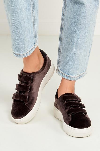 ... Серые вельветовые кроссовки Sandro - Sandro, Обувь, Обувь Sandro, вид 3  ... 4e9a0ee7703