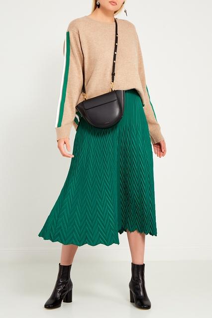 3bdaf53b3ef Зеленая плиссированная юбка Maje – купить в интернет-магазине в Москве