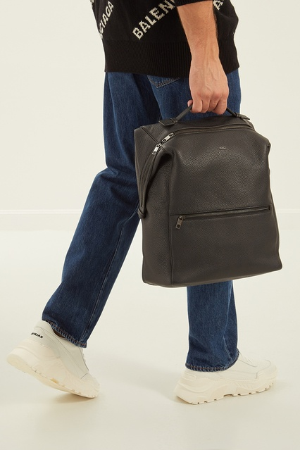 6353e4af6ae1 ... Однотонный кожаный рюкзак FURLA - FURLA, Мужское, Мужское FURLA, вид 3