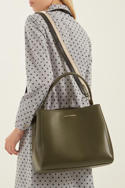 ca46261e091f ... Зеленая сумка с логотипом Adolfo Dominguez - Adolfo Dominguez, Женское,  Женское Adolfo Dominguez, ...