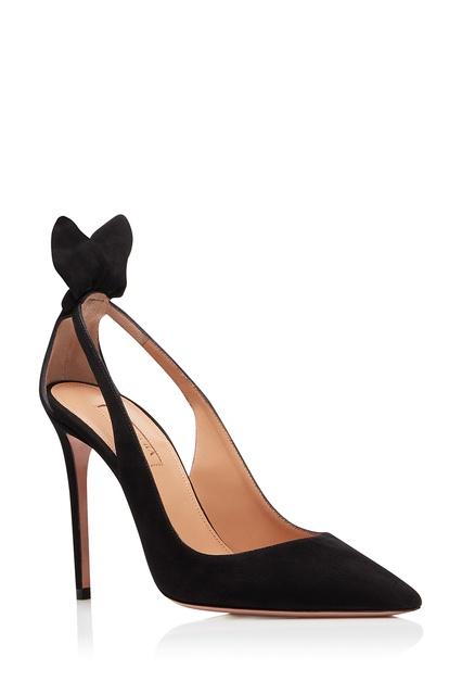 34e9e13c7f64 ... Черные туфли Deneuve Pump 105 Aquazzura - Aquazzura, Обувь, Обувь  Aquazzura, вид 3 ...