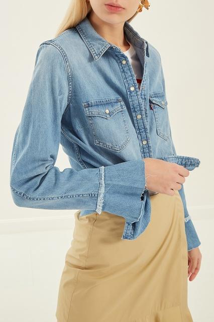 4b5c6ee529983 ... Голубая джинсовая рубашка Levi's® - Levi's®, Женское, Женское Levi's®,  вид ...