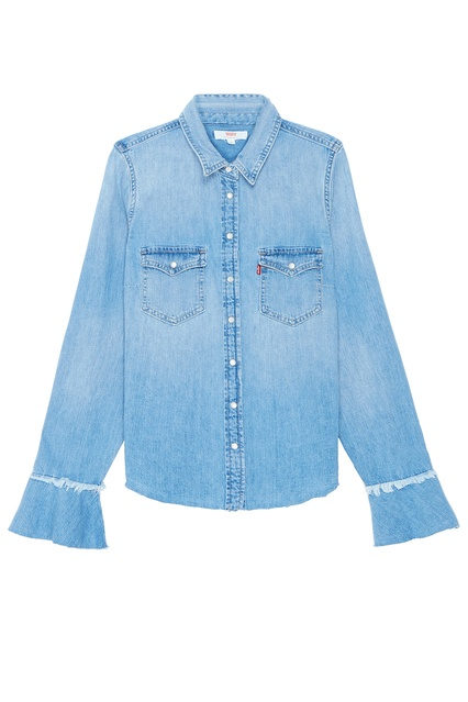a48232159f4a8 Голубая джинсовая рубашка Levi's® - Levi's®, Женское, Женское Levi's®, вид  ...