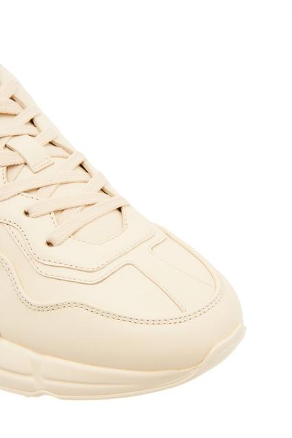 be8007b7 ... Кожаные кроссовки Rhyton с логотипом Gucci - Gucci, Женское, Женское  Gucci, вид 5 ...