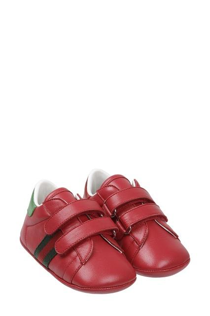 e6ee1dc26d09 ... Красные кроссовки на липучках Gucci Kids - Gucci Kids, Детское, Детское  Gucci Kids, ...