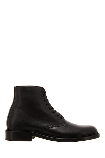 Черные кожаные ботинки на шнуровке Saint Laurent - Saint Laurent, Обувь,  Обувь Saint Laurent ... 539cb0a8d09