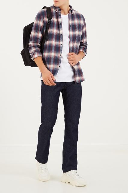 a14186ffe21 Хлопковая рубашка в клетку Made   Crafted Levi s® – купить в ...