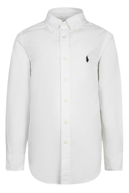 fdbf4c0dfa3c Белая хлопковая рубашка Ralph Lauren Kids - Ralph Lauren Kids, Детское,  Детское Ralph Lauren ...