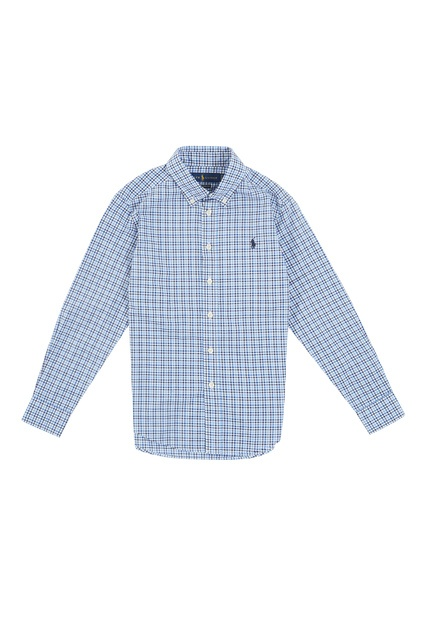 83b6e823a03 Рубашка в клетку Ralph Lauren Kids – купить в интернет-магазине в Москве
