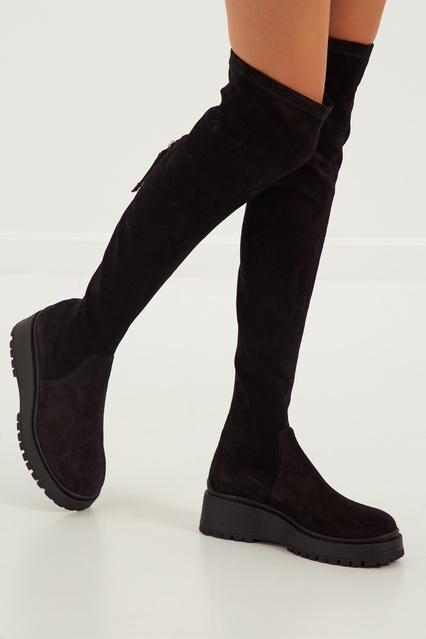 caed5363b022 ... Ботфорты на платформе Miu Miu - Miu Miu, Обувь, Обувь Miu Miu, вид ...