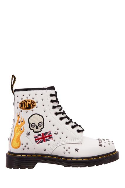 Кожаные ботинки 1460 Rock   Roll DR.Martens – купить в интернет ... b0a88e2857bcc