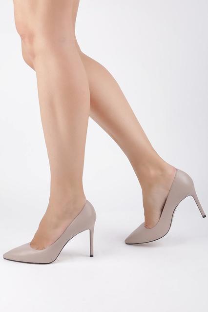 1ec9733ffe4f ... Бежевые туфли-лодочки из кожи Leigh 95 Stuart Weitzman - Stuart  Weitzman, Обувь, ...