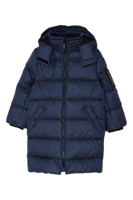 Синяя стеганая куртка Burberry Kids - Burberry Kids, Детское, Детское Burberry  Kids, вид ... a56be819fee