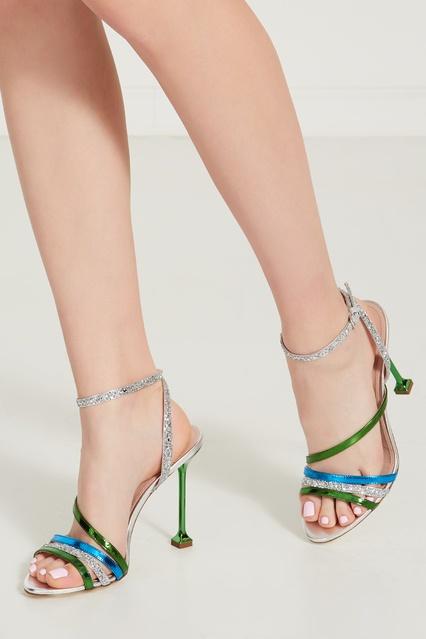... Босоножки с глиттером Miu Miu - Miu Miu, Обувь, Обувь Miu Miu, вид ... efa142945bd