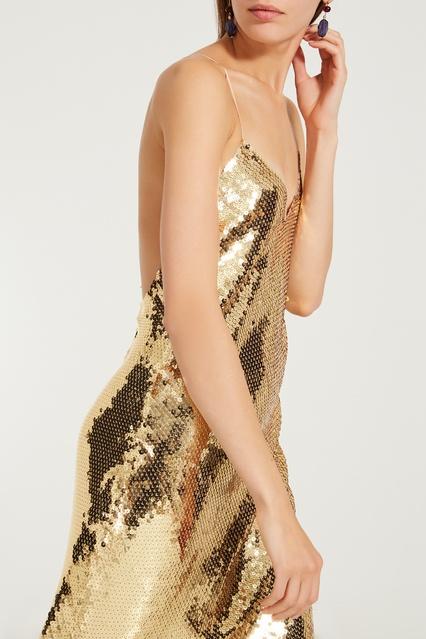 82b256bbd8e8030 ... Золотое платье с пайетками Bernice Stella McCartney - Stella McCartney,  Женское, Женское Stella McCartney ...