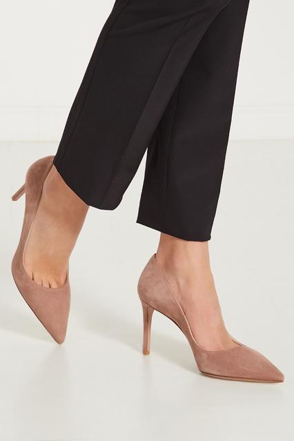 f8c342e5c ... Бежевые туфли-лодочки из замши Prada - Prada, Женское, Женское Prada,  вид ...