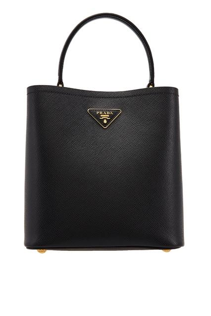 3a3f79acfab0 Черная кожаная сумка Prada - Prada, Женское, Женское Prada, вид 1 ...
