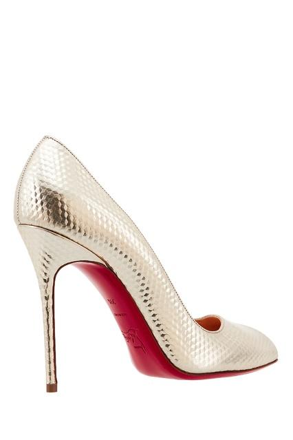 c0bfdcf576af ... Туфли с зеркальным эффектом Corneille Cubiste 100 Christian Louboutin -  Christian Louboutin, Обувь, Обувь ...