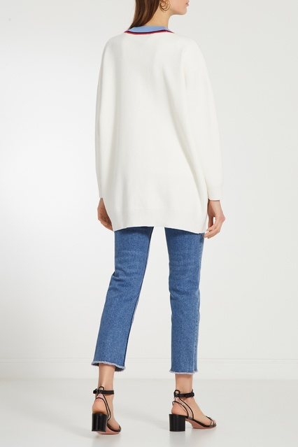 e23b039ad6a Джинсы с вышивкой на заднем кармане Maje – купить в интернет ...
