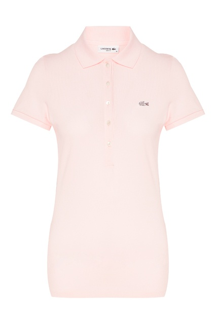 d0ac29a08477c Розовая футболка-поло Lacoste - Lacoste, Женское, Женское Lacoste, вид 1 ...