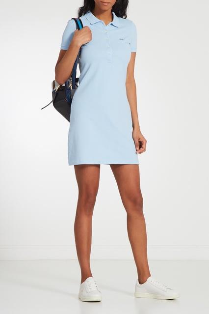 fc6f2e765a463 ... Голубое платье-поло Lacoste - Lacoste, Женское, Женское Lacoste, вид 2  ...